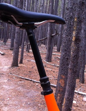 Yes! That's a 170mm RockShox Reverb Stealth dropper post. I'm all for longer dropper posts on X-Large frame sizes