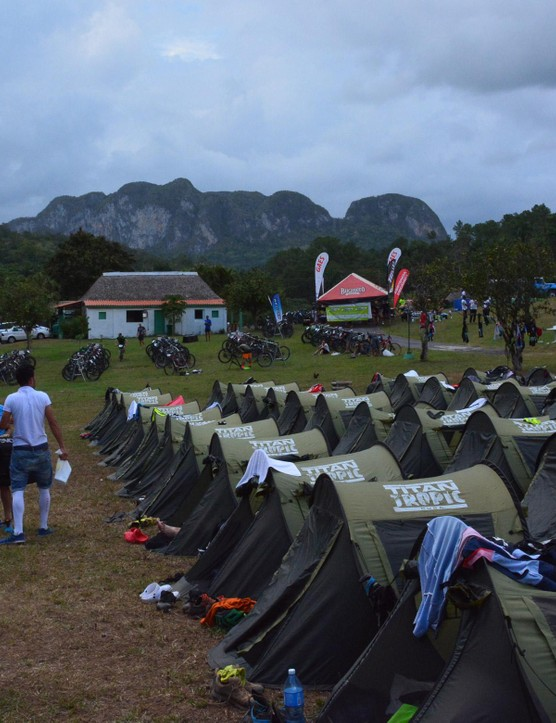 Tent city number two was in Vinales
