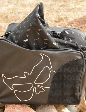 Kali includes both a soft cloth bag and zippered carrying bag