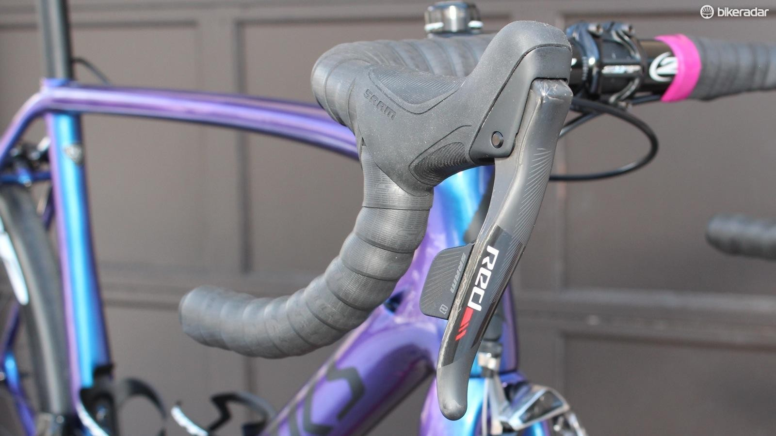 SRAM eTap has the cleanest layout of any modern shifter