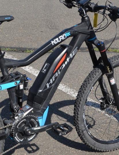 Yamaha powers this long-travel Haibike NDURO