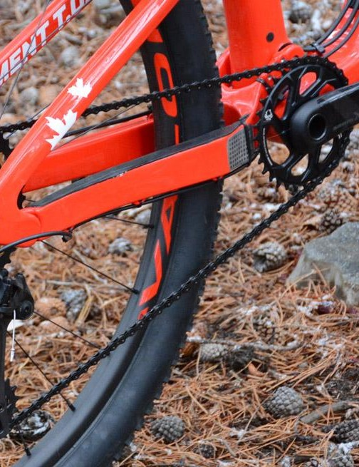 SRAM's XX1 Eagle handles the shifting action