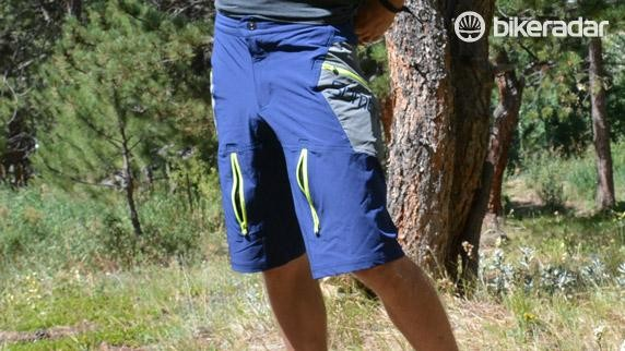 No subtlety here, the Pinners are mountain bike shorts through and through