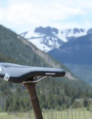 While it's normally a saddle my rear end agrees with, this Ergon SMA3 didn't mesh with me