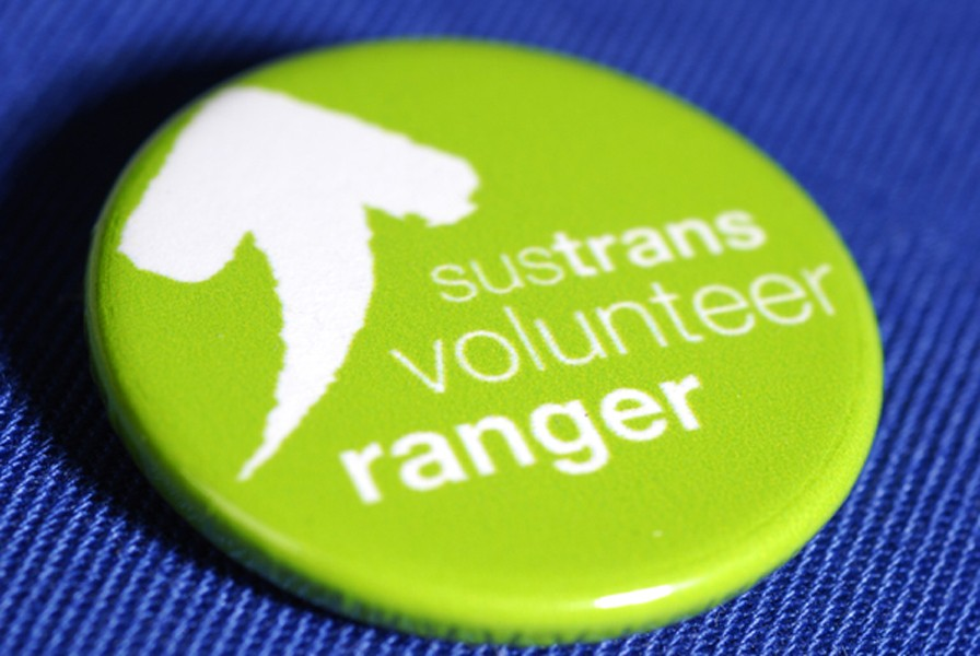 Rangers are the lifeblood of Sustrans