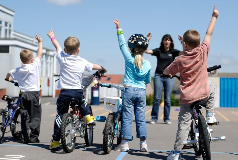 Bike It is getting school children cycling