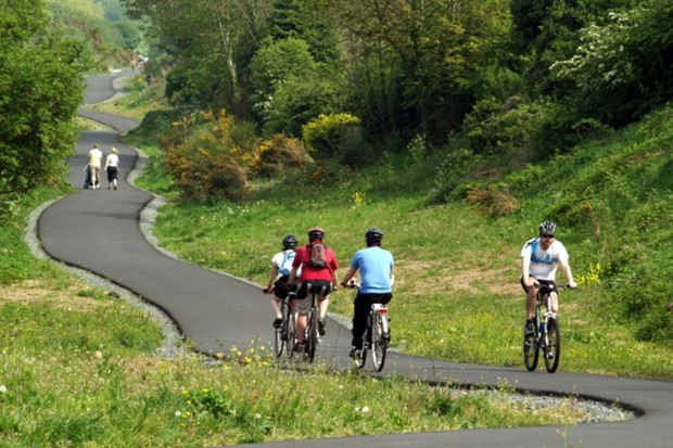 The final stage of the Comber Greenway in Belfast has been completed
