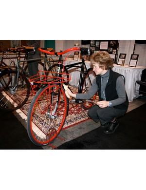Always a chore keeping those pesky fingerprints off the ANT bikes.