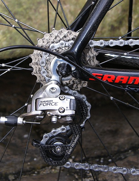Many SRAM Red-sponsored teams ran Force rear derailleurs for some reason.