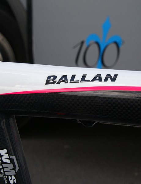Ballan's frame has no model designation and there's nothing like it in Wilier Triestina's catalogue