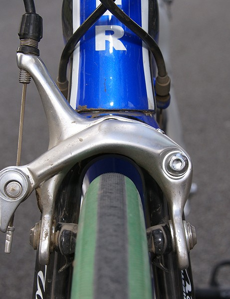 The fork crown is also equipped  with a bit of extra clearance.