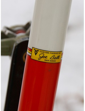 The timeless red, white and yellow finish is applied by renowned painter Joe Bell