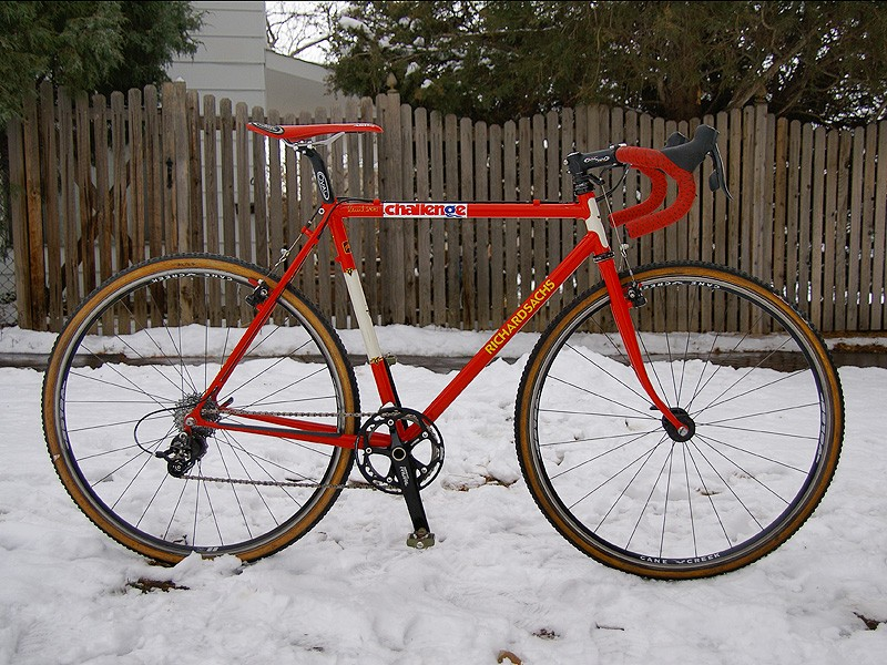 Alie Kenzer's Richard Sachs Signature Cyclo-cross bucks the trend with its 100 percent steel frame and fork construction