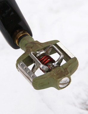 Crankbrothers Candy pedals are a popular choice for 'cross