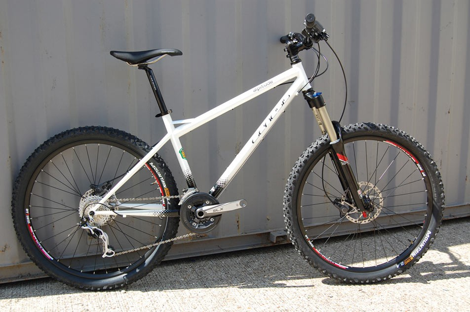 The Alpitude is the long travel steel hardtail in the Genesis armoury