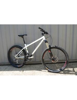 Kitted out with RockShox Revelations, Shimano SLX chainset and brakes and an XT Shadow rear mech