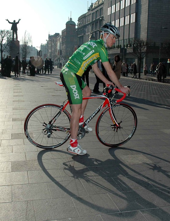 The official presentation added colour to an already bright Spring morning in Dublin.