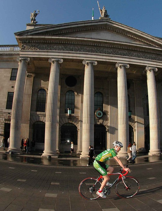 Dublin's most famous landmark, & HQ of the new main sponsor, the General Post Office (GPO)