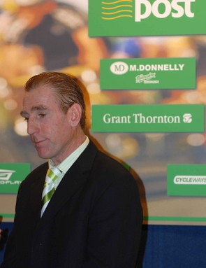 Sean Kelly was understandably pleased with the new support for his vision.