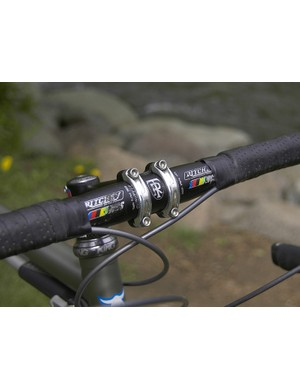 An oversized Ritchey WCS bar commands the front end.