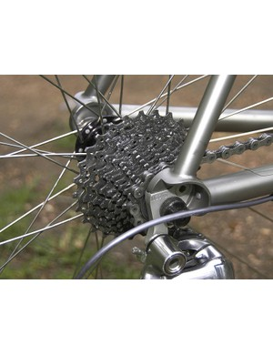 A Shimano Ultegra cassette provides the same shift performance as Dura-Ace at a fraction of the cost