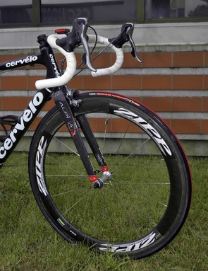 Zipp has been a long-time sponsor of the CSC team and provides a wide range of wheelsets to suit most any condition