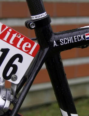 Schleck had a tough day on stage 10's ascent of the Hautacam but we've definitely not seen the last of this incredibly talented rider from Luxembourg