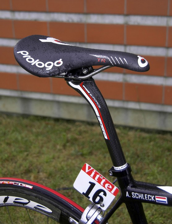 The Prologo Scratch TR saddle is fast becoming a favourite among the pros