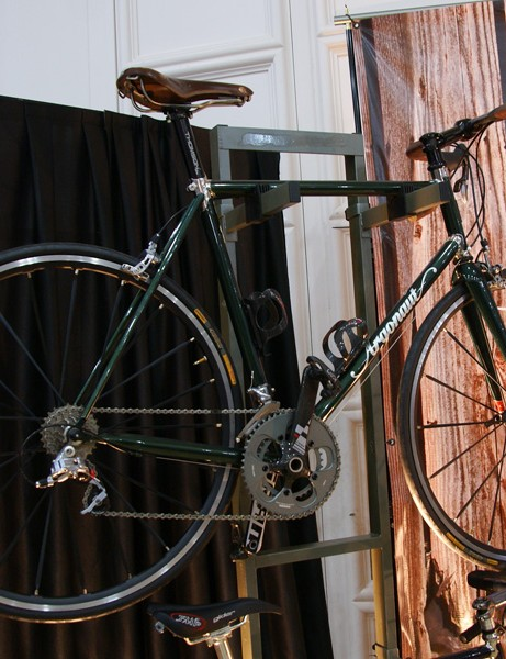 Also on hand from Argonaut was a clean road bike built with Columbus Life tubing...