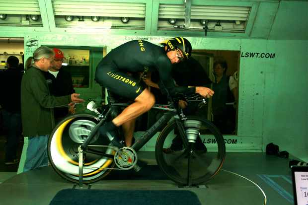 The Look: in the windtunnel with Lance Armstrong.