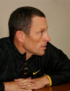 Armstrong talks about the French, his recent time trialling position, and his 2009 race schedule.