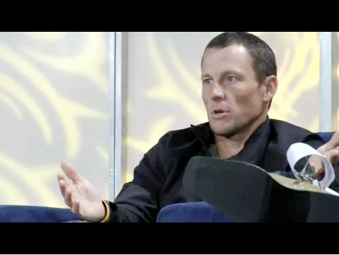 Lance Armstrong spoke in front of a Silicon Valley techie crowd in San Francisco November 5, 2008, after spending time in the wind tunnel.