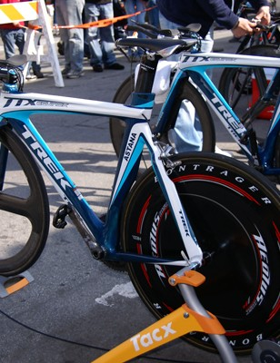 Trek claims that its Equinox TTX frames are some of the most aerodynamic around