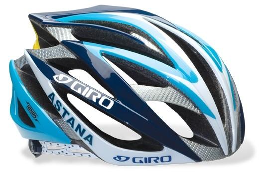 Astana's Giro Ionos helmet