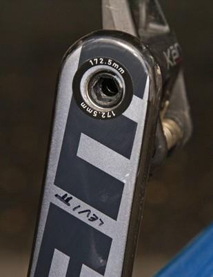 172.5mm-long crankarms for Leipheimer.