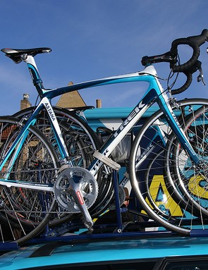 Tomas Vaitkus and his Astana team continued their spring campaign.