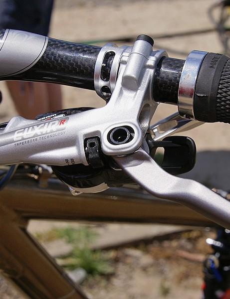 The Elixir R features easier reach adjustment…
