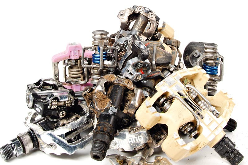 Clipless pedals produce one of the most noticeable performance advantages for XC riding.