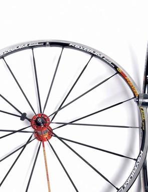 Speed up your ride with a set of race wheels.