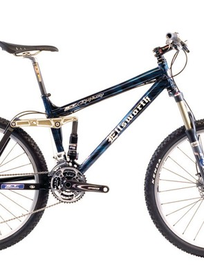 You can still have five inch of relative lightweight fun with bikes like Ellsworth's Epiphany.