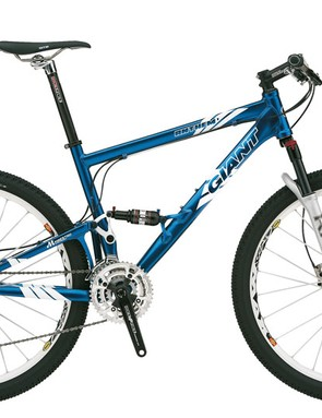 Giant's Anthem is the perfect example of a fast, 3in full suspension XC race bike.