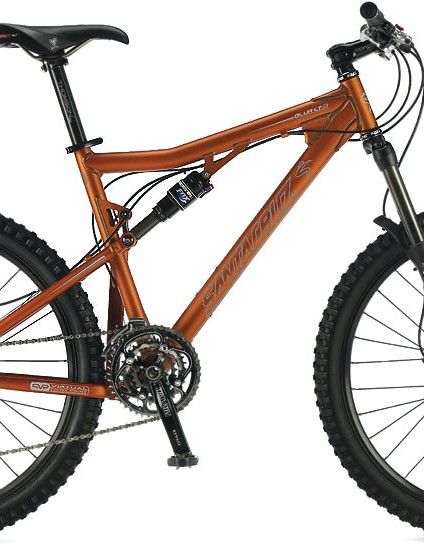 Need any more than four? The Santa Cruz Blur is a true go anywhere, do anything, multidiscipline bik