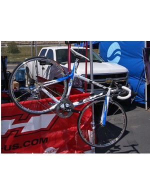 BH's top-end G4 was proudly hanging from a scale at Sea Otter.