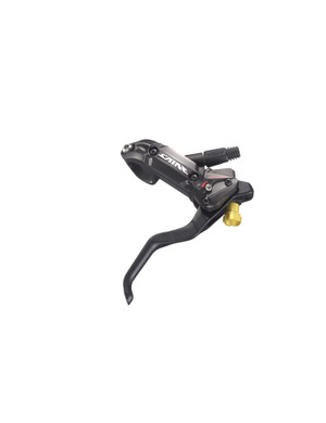 Brake levers are Servo Wave-equipped for fast pad engagement and excellent modulation.