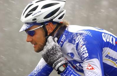 Cycling : 58e Kuurne - Brussels - Kuurne Illustration Illustratie / Snow Neige Sneeuw / BOONEN Tom ( Bel ) / Polar
