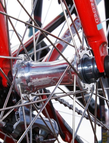 The front hub was made by Miche…