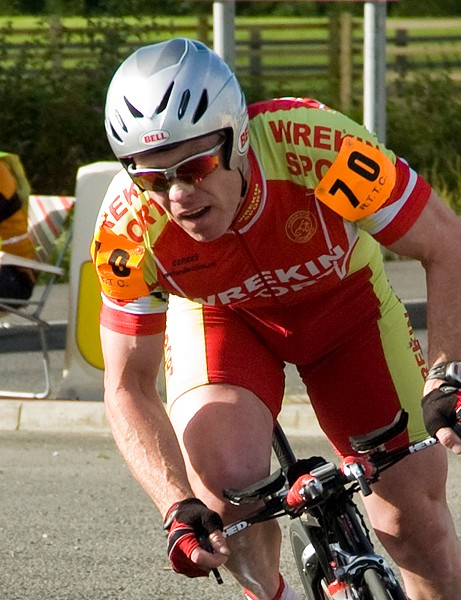 Andy Bason, third overall, negotiates the first turn