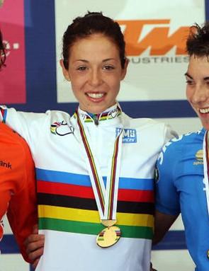 Bastianelli (centre), Vos (left), Bronzini (right)