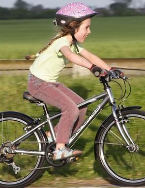Kids love riding their bikes