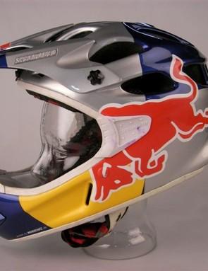 Benny Korthaus's Red Bull helmet